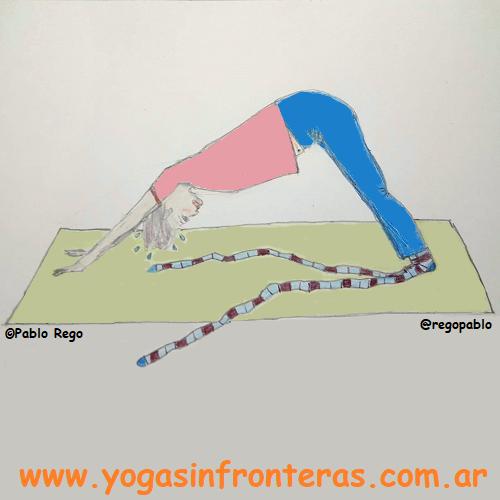 Humor: Yoga en medias (o calcetines)
