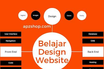 Belajar Design Website, Membuat From Pendaftaran Online Lengkap
