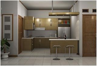Desain Dapur Rumah Minimalis Sederhana Mungil Nan Cantik