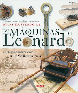 Atlas ilustrado de las máquinas de Leonardo