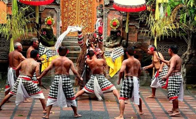It feels incomplete to Bali without watching the present barong as well as keris  Beaches in Bali; Watching Barong as well as Keris in Batubulan