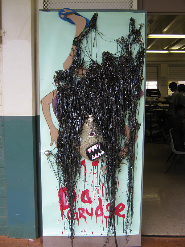 Highlands Intermediate Student Activities: Halloween Door