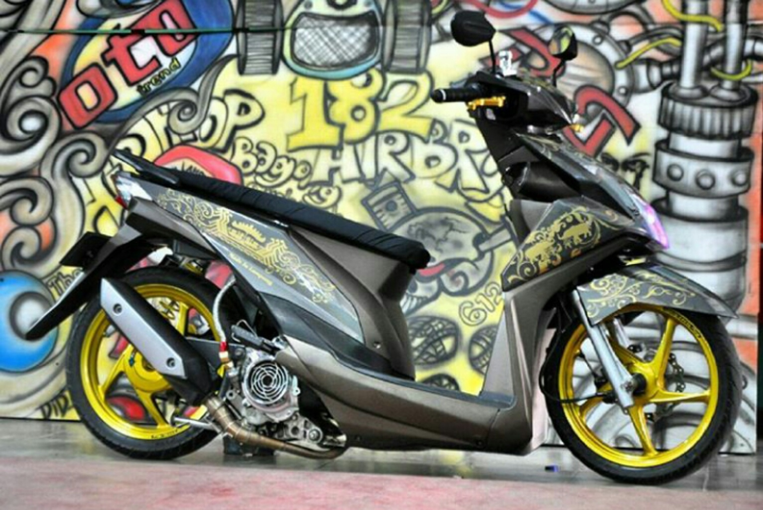 MODIF BEAT THAILOOK CEPER THAILOOKERS Blogs Concept Modified