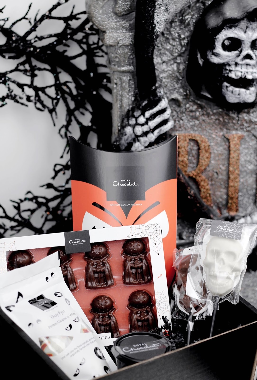 Hotel Chocolat Halloween Hamper Giveaway Blog