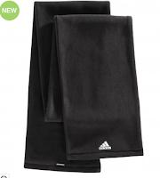 Imagine fular negru velur Adidas pentru barbati