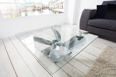stolik do obyvacky so sklom.