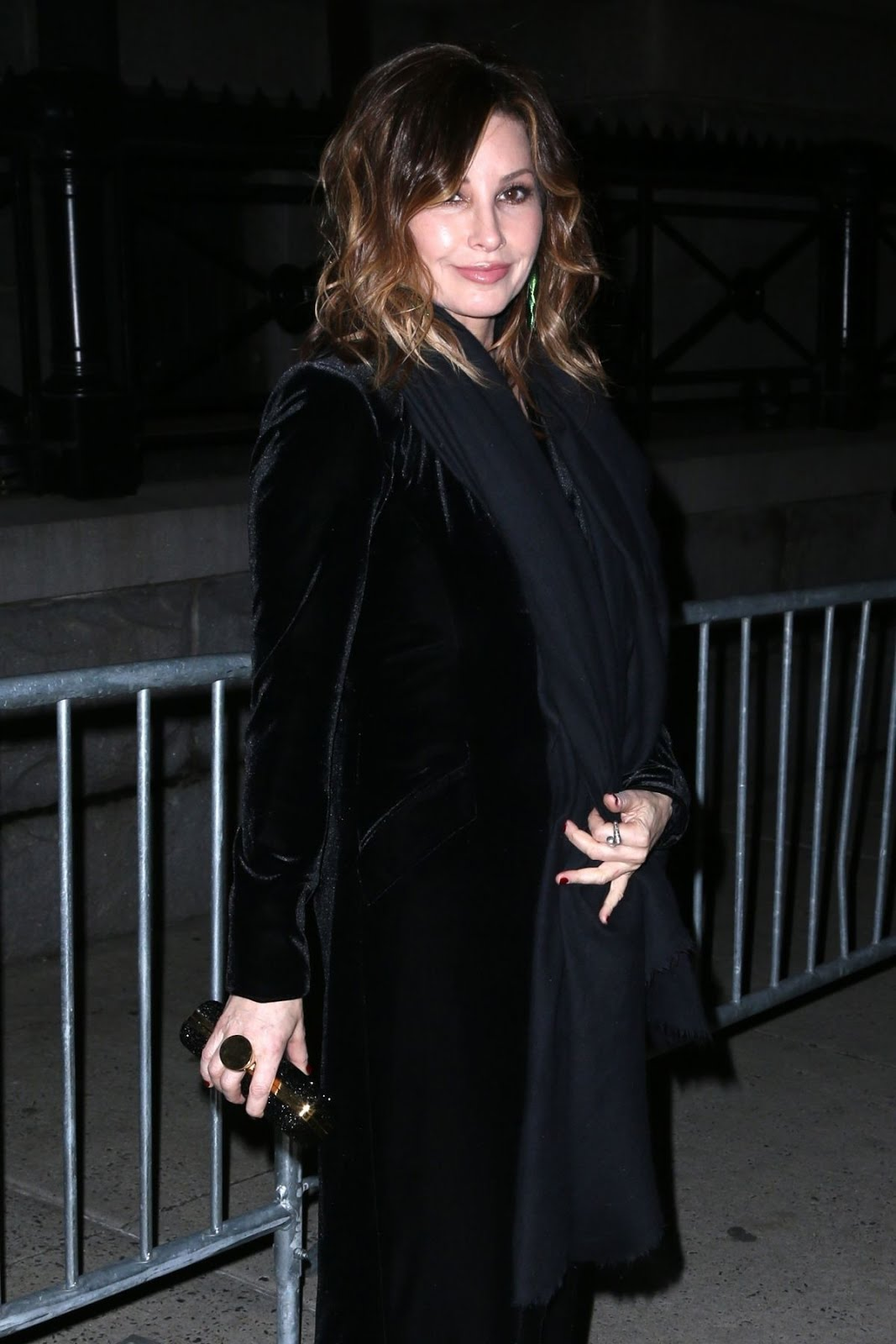 Gina Gershon At Tom Ford Fashion Show In New York