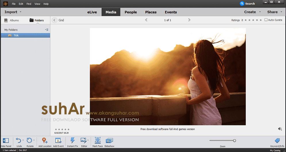 Free download software Adobe Photoshop Elements 2018 final latest version terbaru gratis serial number patch keygen crack license key activation code www.akangsuhar.com