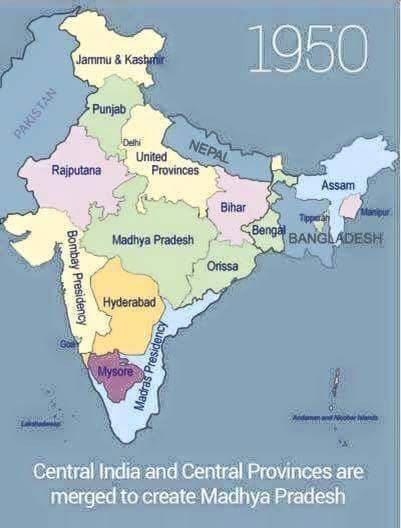 Linguistic reorganisation of states in india