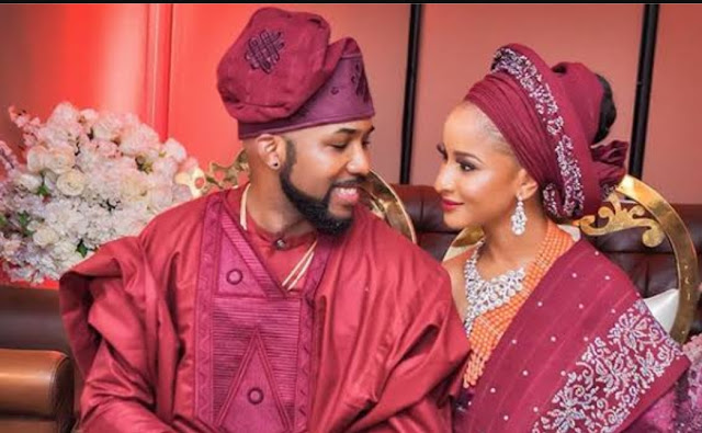 Banky W  reacts finally to Wizkid's absence at his wedding