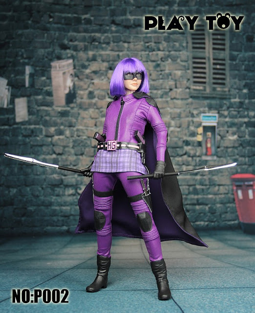 Play Toy 1/6 P002 - Purple Girl. Only MYR391.00