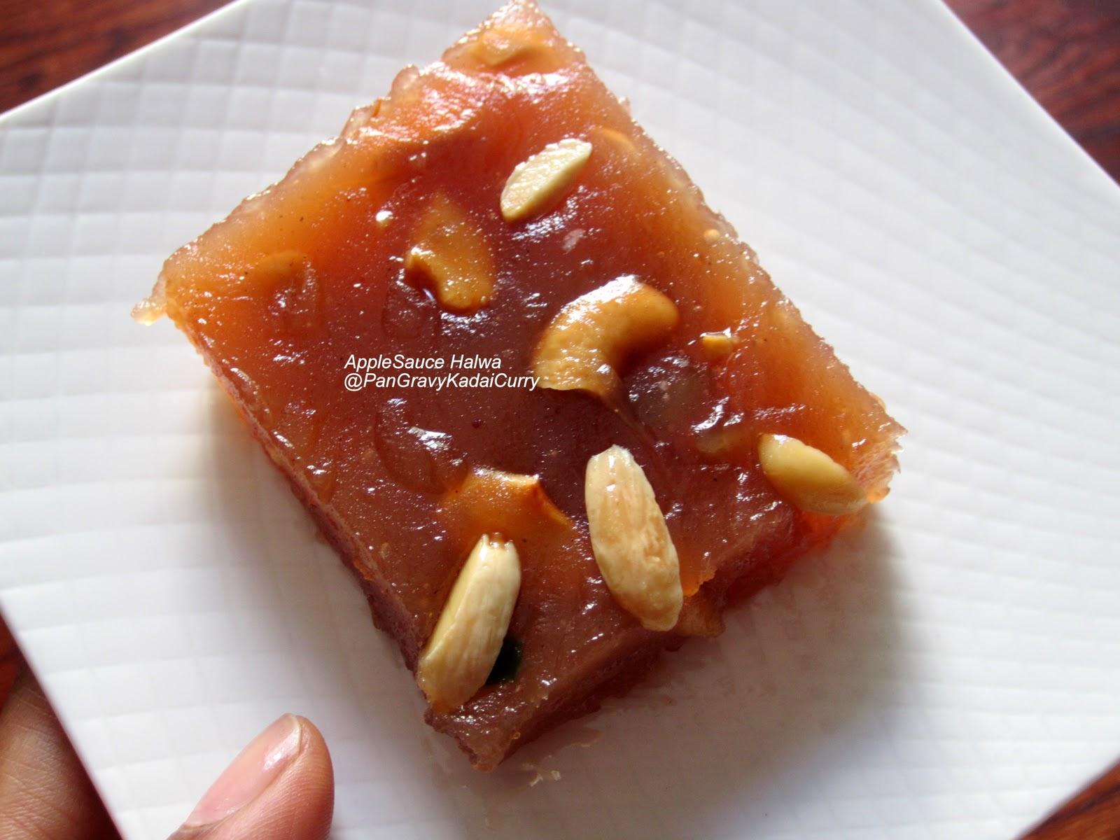 Egg Cake Recipe In Kadai: Pan Gravy Kadai Curry: AppleSauce Halwa