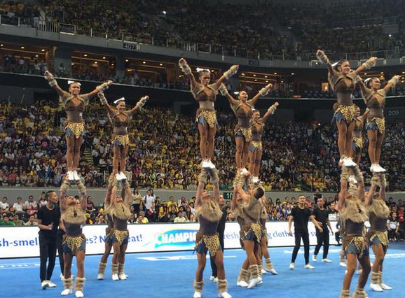 NU Pep Squad is 2015 Cheerdance Competition Grand Champion