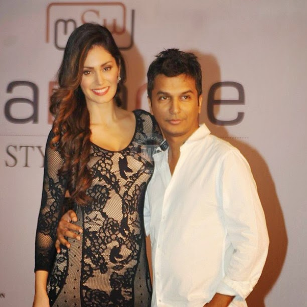 bruna abdullah , & vikram phadnis , at madame style week announcement, Bruna Abdullah Hot Images From Modelling