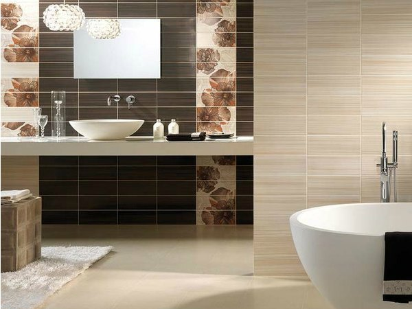 15 ideas originales para decorar paredes de ba os - Ideas originales para banos ...