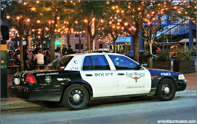 Coche de Policia de Fort Worth