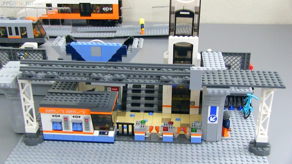 LEGO Train Station MOC update #3