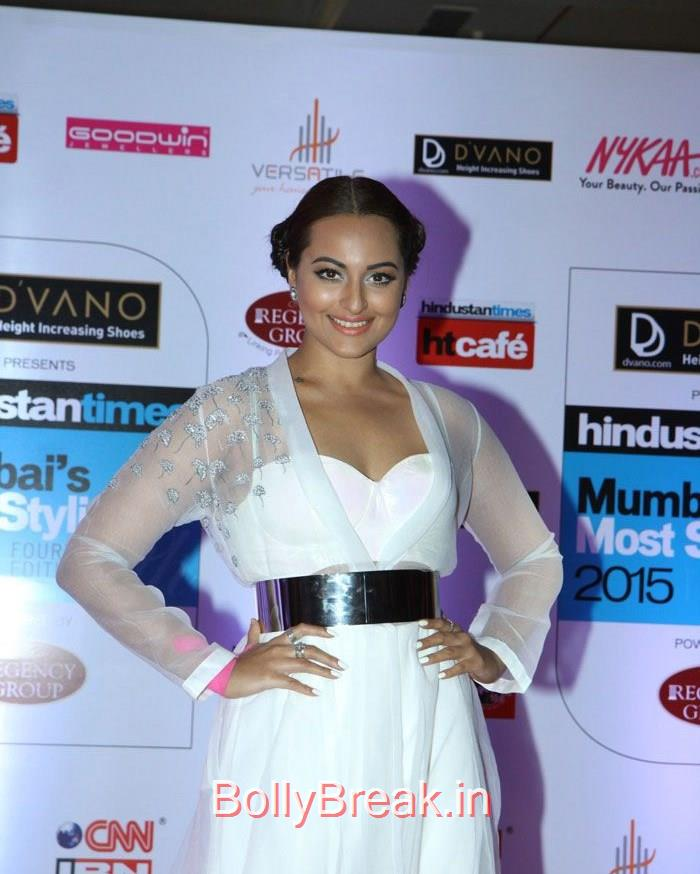 Sonakshi Sinha, Mumbai's Most Stylish Awards 2015 Full Photo Gallery