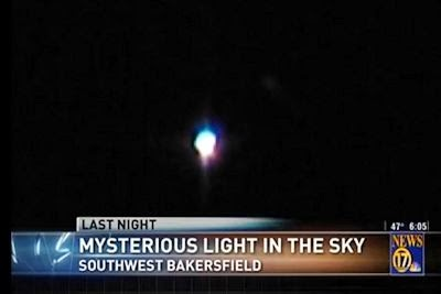 Mysterious Light in Sky Reported Over Bakersfield