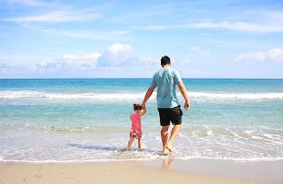 plage avec bébé niveau débutant