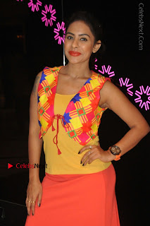 Telugu Actress Model Sri Reddy Latest Stills in Yellow Dress  0026.JPG