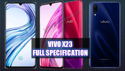 Vivo x23 price and launch date in india