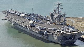Portaaviones USS Nimitz (CVN-68). Aviones, submarinos y barcos de guerras más caros del mundo. Cuánto cuesta un portaviones. Cuál es el costo de un avión de guerra. Cuánto vale un submarino nuclear.