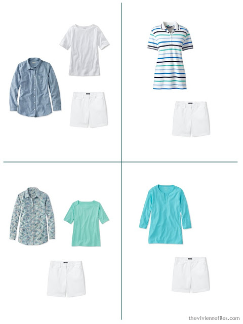 4 ways to wear white shorts for spring