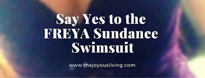 Say Yes to the Freya Sundance Swimsuit. (c) The Joyous Living.