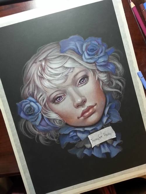 10-Emiliana-Jennifer-Healy-Traditional-Art-Color-Pencil-Drawings-www-designstack-co
