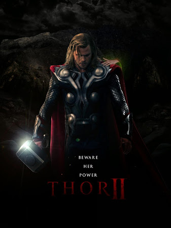 Poster Of Thor: The Dark World 2013 In Hindi Bluray 1080P HEVC Free Download
