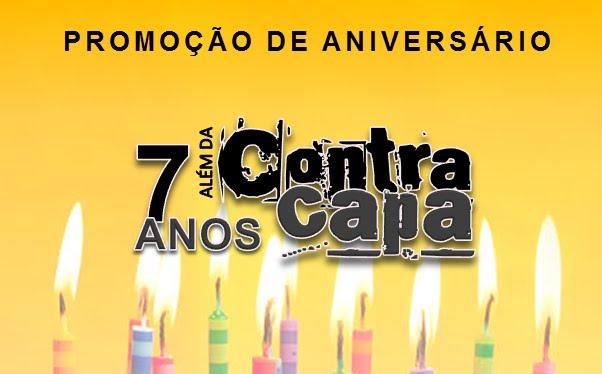 [PROMOÇÃO] Aniversário do Além da Contracapa!