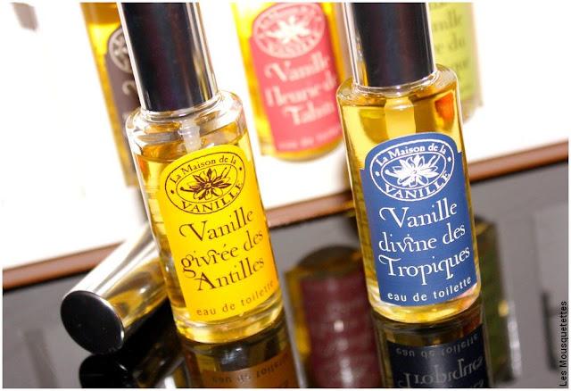 Vanille givrée des Antilles et Vanille divine des Tropiques - La Maison de la vanille - Blog beauté