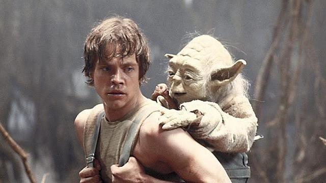 Luke y Yoda