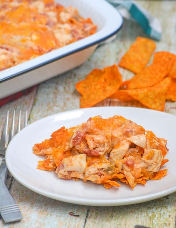 Cheesy Chicken Doritos Casserole Most Viral Recipes On The Web