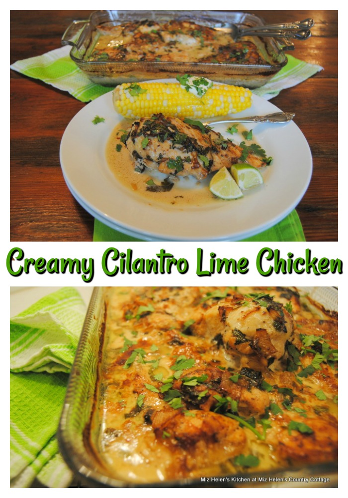Creamy Cilantro Lime Chicken