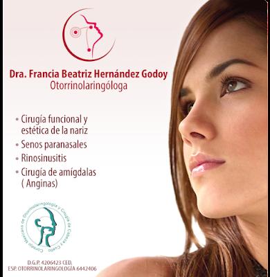 Dra. Francia Beatriz Hernandez Godoy OTORRINOLARINGOLOGÍA GUADALAJARA