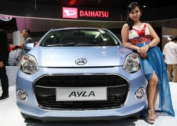 Spesifikasi Dan Harga Daihatsu Ayla tipe mobil