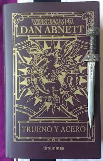 Portada del libro Trueno y acero, de Dan Abnett