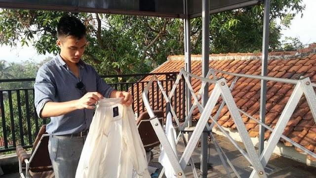5 cara sederhana keringkan cucian di musim hujan