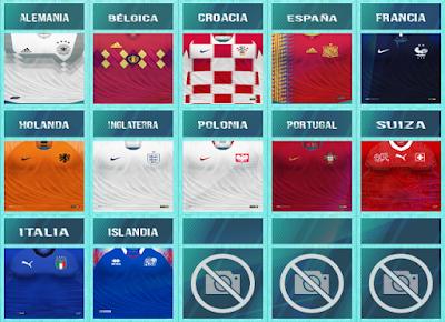 PES 6 Kitpack UEFA Nations League 2018/2019 by JeremySvr & WindowOP