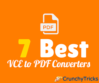 Best VCE to PDF Converters