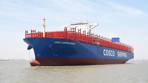 شنغهاي تستلم اكبر سفينة للحاويات في العالم