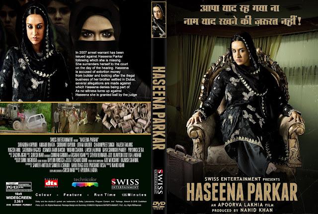 Haseena Parkar DVD Cover