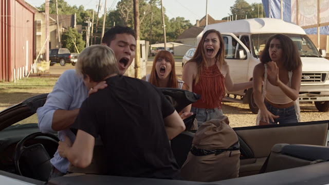 Attack of the Southern Fried Zombies:scena