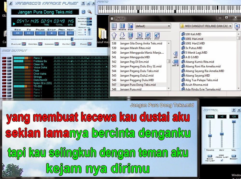 Image Result For Midi Karaoke Barat