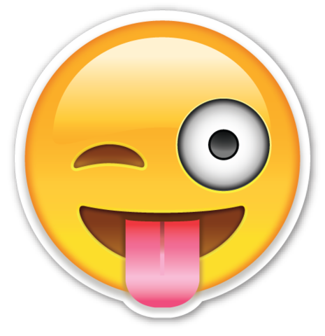Smiley Face With Ngue Out Emoji