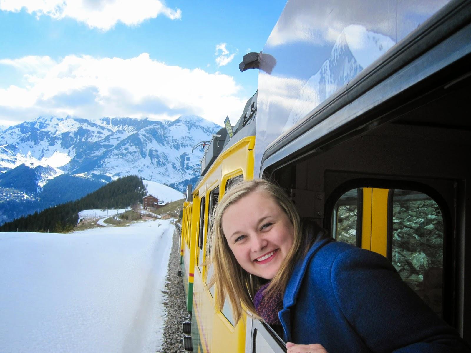 Train into the Alps | Switzerland