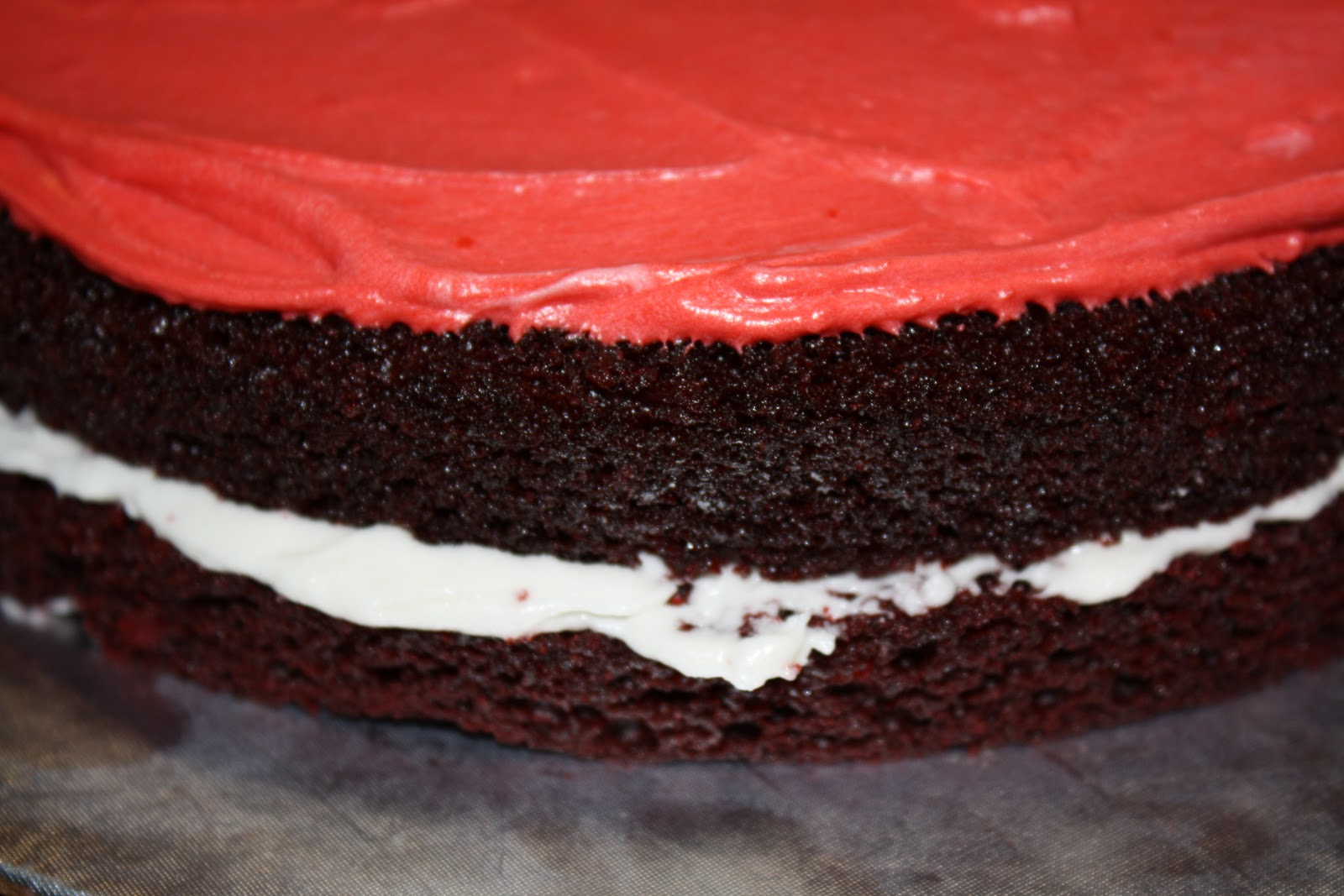 The Hungry Dudes Red Velvet Cake