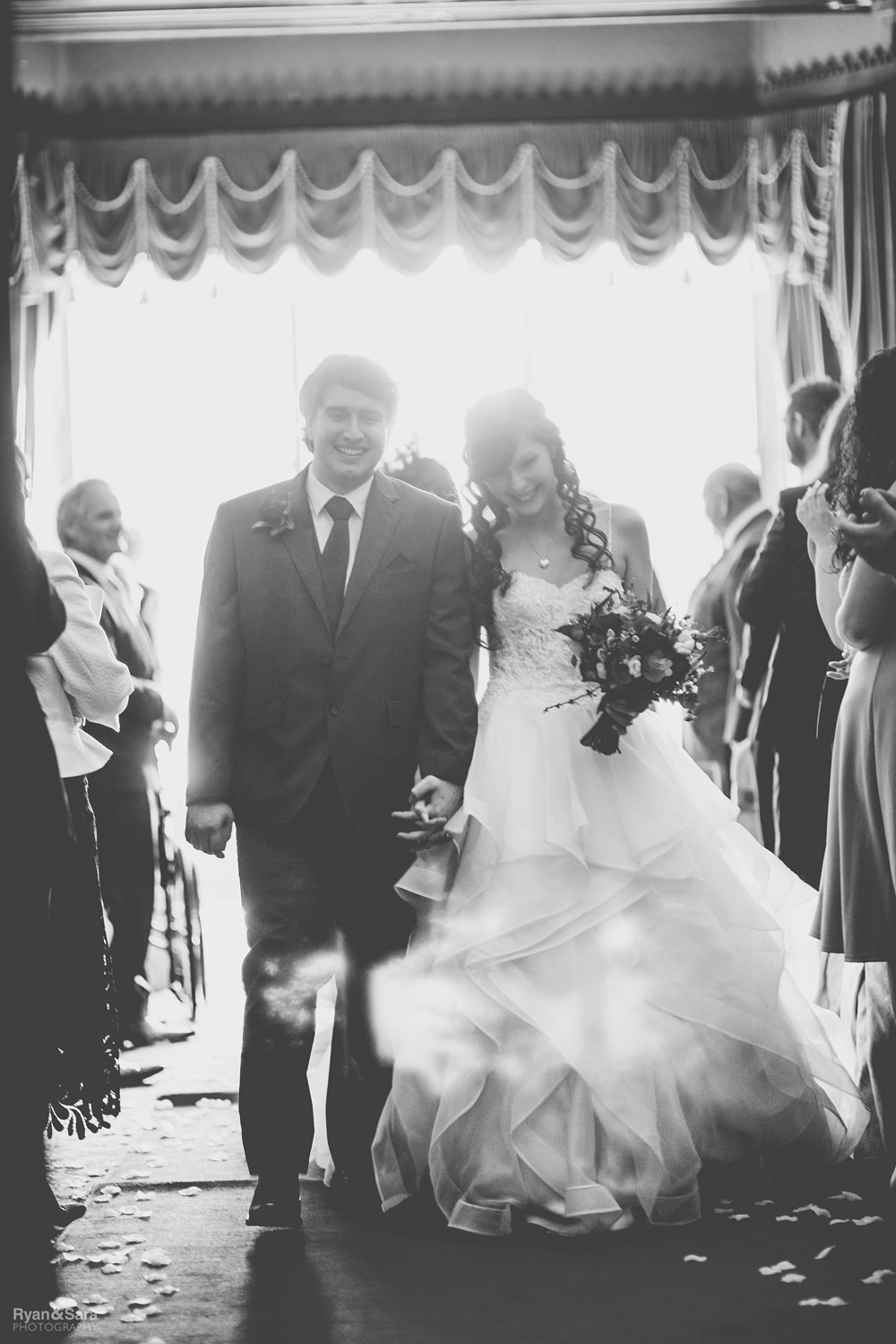 wedding, ettington park hotel, ryan and sara photography